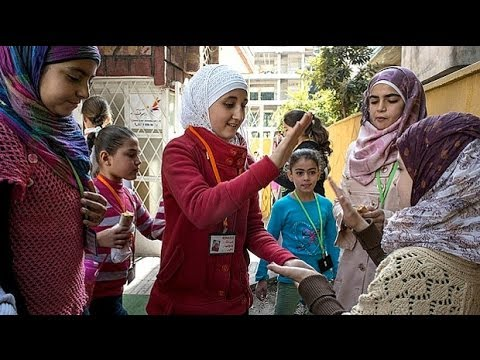 The School For 'orphans' Of The Syrian War