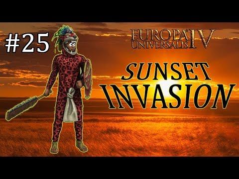 Europa Universalis IV - Aztec - EU4 Achievement Sunset Invasion - Part 25