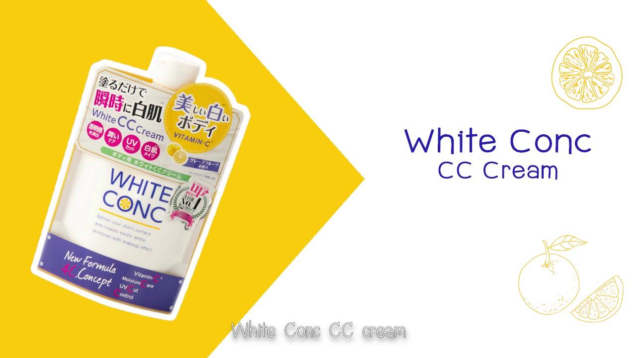 Dưỡng Thể Trắng Da White Con CC Cream 200gr