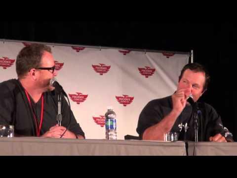 Chuck Panel Adam Baldwin and Robert Duncan McNeill HD