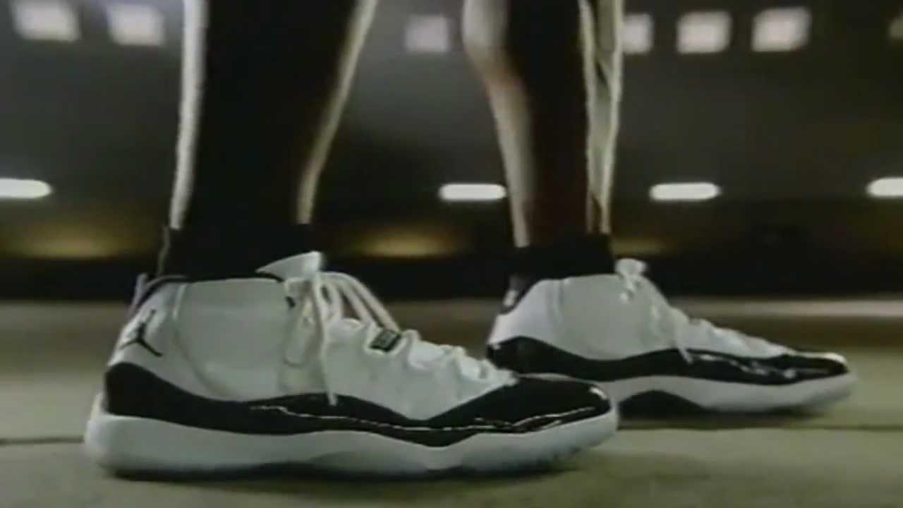 in stock b0dc9 ff1b0 Air Jordan XI Concord Nike Commercial ( HD )