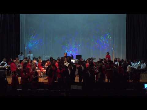 East Columbus High School Band Chorus Performance 2016 Christmas