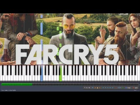 Far Cry 5 Piano - When the Morning Light Shines In Piano (synthesia)