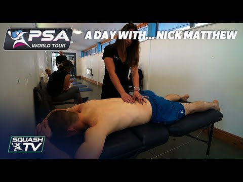 Squash: A Day With... Nick Matthew