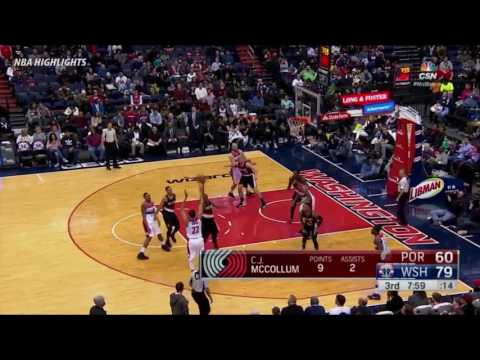 Washington Wizards vs Portland Trail Blazers - Highlights | NBA 2016-17 Season