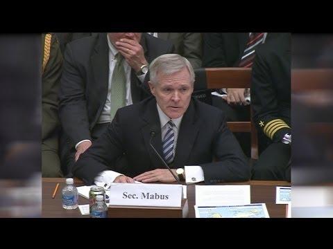 SECNAV Testifies Before Congress