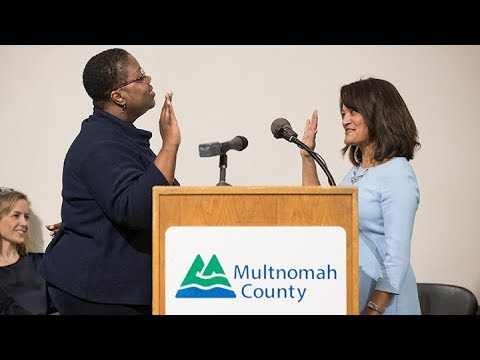 Multnomah County Commissioner Jayapal Swearing-In Ceremony