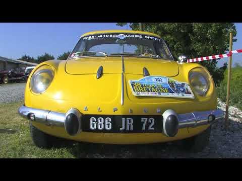 Tour de Bretagne véhicules anciens