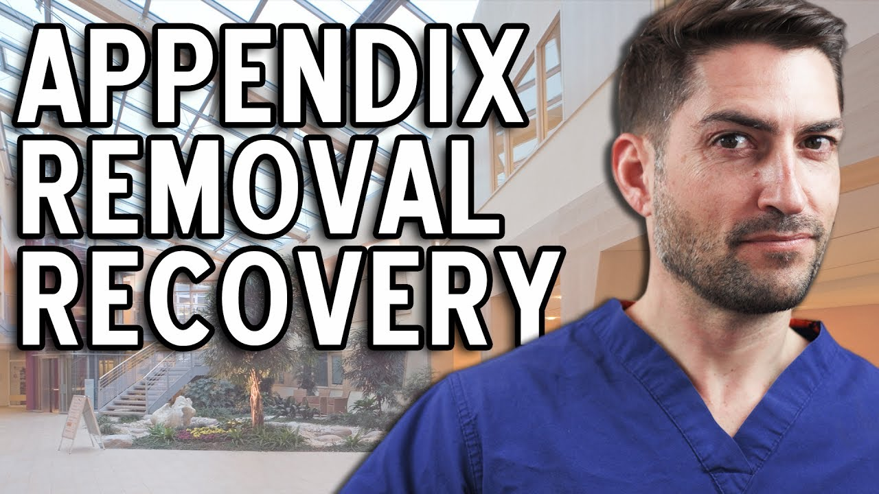 How to quickly bring yourself back to normal after removal of appendicitis