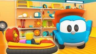 Cartoni animati per bambini: Camioncino Leo Junior e l'aeroscafo
