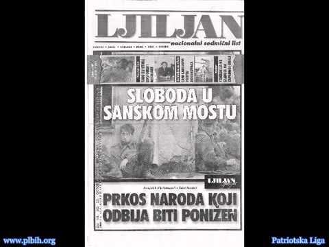 (Srpski) Radio Sanski Most 1992 Proglasi srpskog agresora