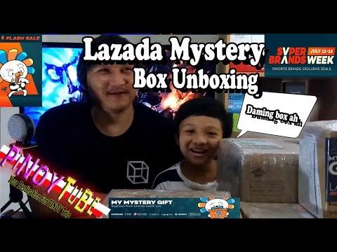 Lazada Mystery Box Unboxing - Pinoytube Style
