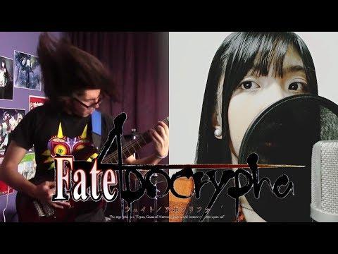 "Fate/Apocrypha OP1 - ""Eiyuu Unmei no Uta (英雄 運命の詩)"" - EGOIST - Band Cover【Akano & MrLopez2112】"