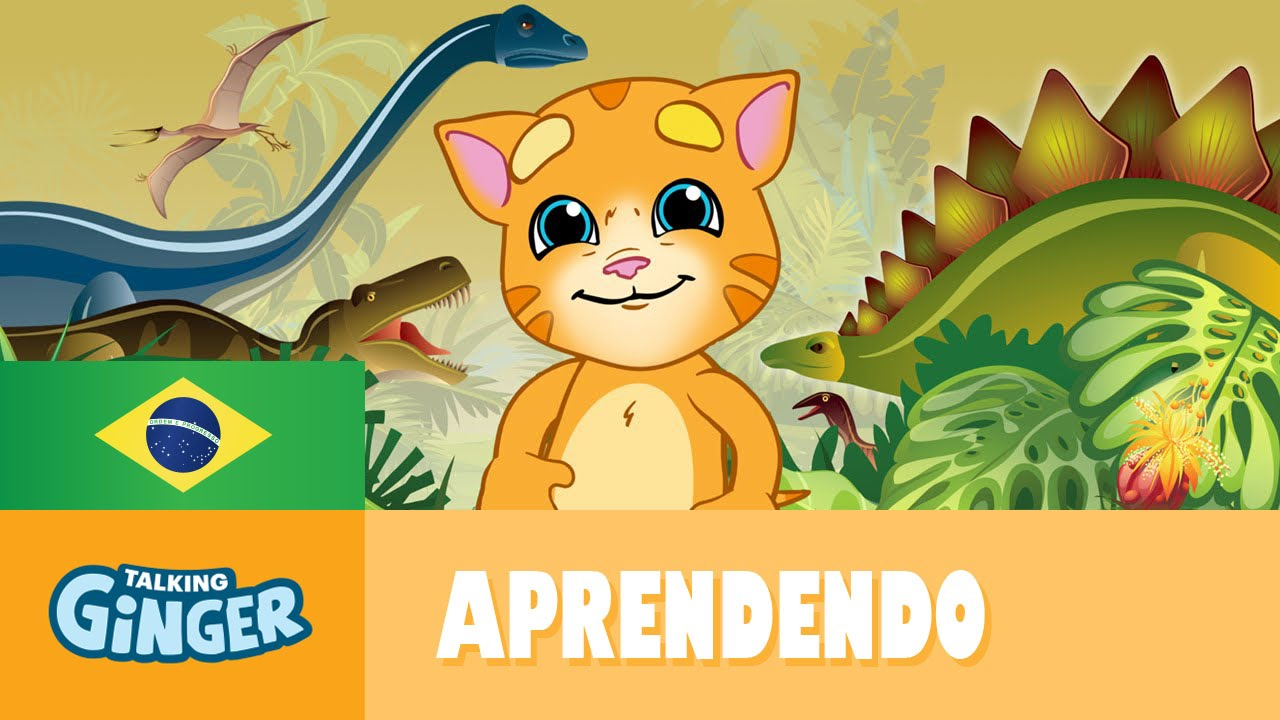 Ginger Desenho throughout talking ginger e os dinossauros - youtube