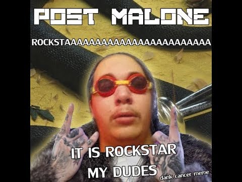 hqdefault it is rockstar my dudes (post malone rockstar meme) youtube