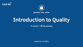 Quality Managment   Introduction