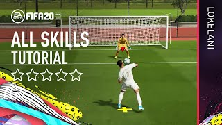 FIFA 20 ALL 100 SKILLS TUTORIAL | Xbox One & PS4