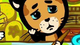 Развивающие и обучающие песенки для детей - Три котенка: Маленькие художники - теремок тв: песенки