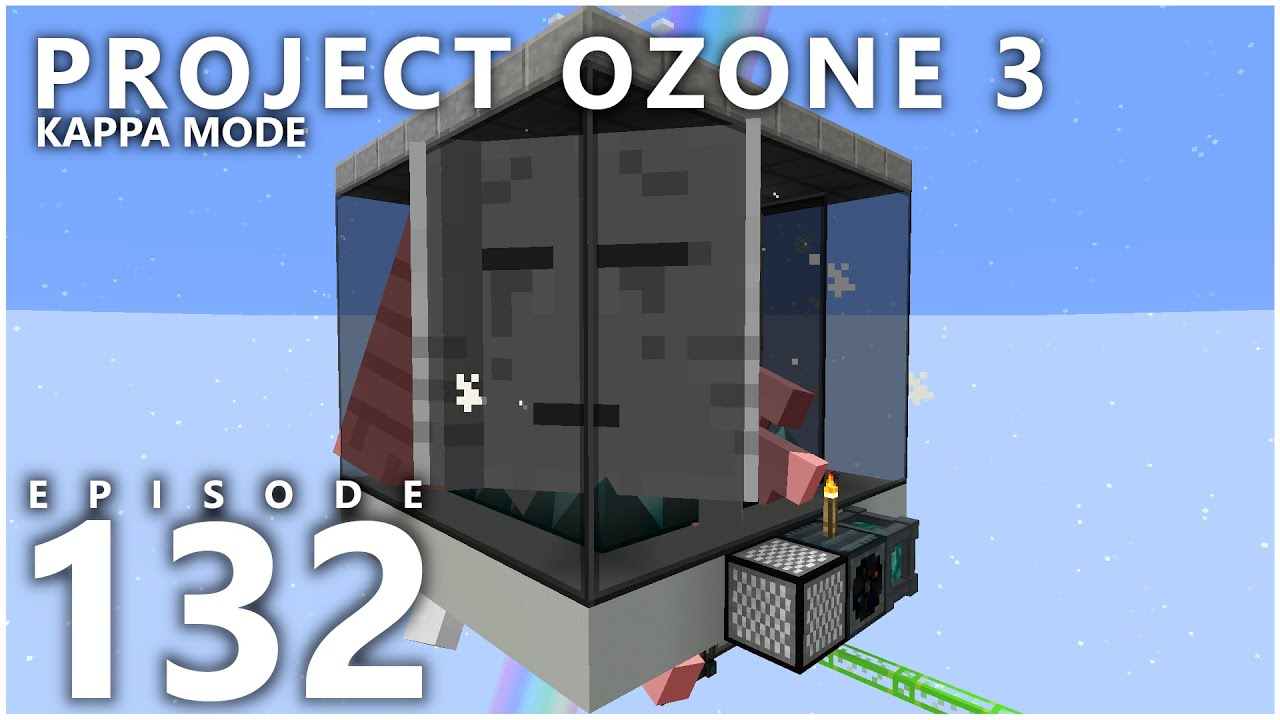 Project Ozone 3 Kappa Mode - COSMIC MEATBALL AUTOMATION [E132] (Modded Minecraft Sky Block)