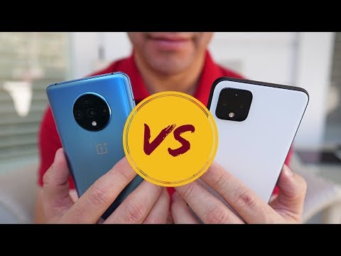 OnePlus 7T vs Google Pixel 4 XL: Who does Android BETTER?!
