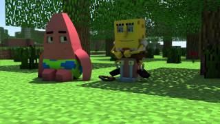 """""""Спанч Боб в Minecraft 2"""" - Анимация"""