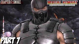 Mortal Kombat Komplete Edition Story Mode Part 7 - Chapter 7: Smoke (PC, PS3, Xbox 360)