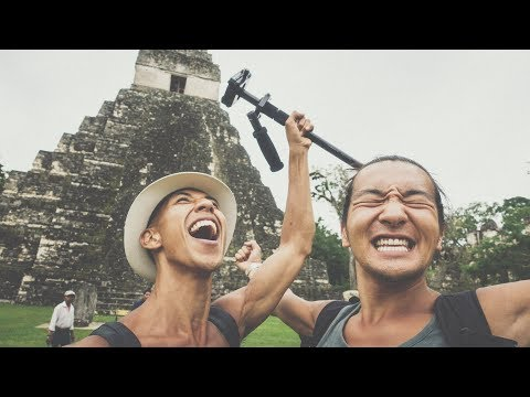 EPIC Guatemala Travels - Tikal Ruins (+Prohibited Drone Shots!) Vlog #2
