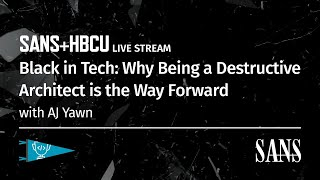 Why Being a Destructive Architect is the Way Forward for Black in Tech