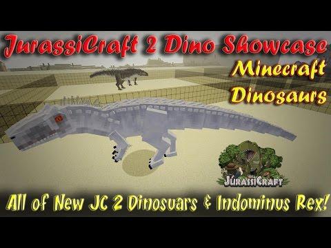 Indominus Rex JurassiCraft 2 Showcase IREX Blue Charlie