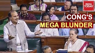 Sonia Gandhi Perplexed Over Congress MP& 39 s UN Remark On Article 370 Amit Shah Hits Back