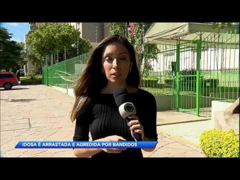 Idosa é arrastada e agredida por bandidos em Porto Alegre (RS)