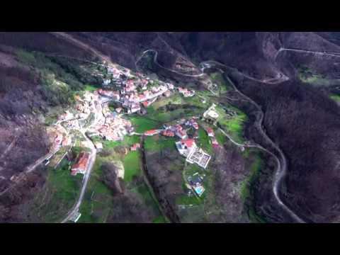 Colmeal (Góis) Aerial View 4K