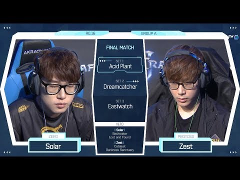 [2018 GSL Season 2] Code S Ro.16 Group A Match5 Solar vs Zest