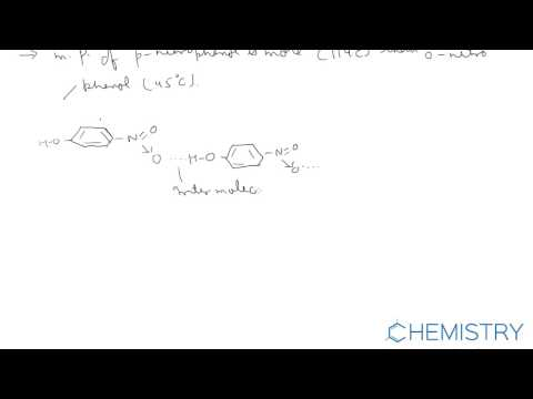 Effect of hydrogen-bond on physical properties of compounds ( Chemistry Online Guru )