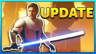 General Kenobi Skin Gameplay + Obi-Wan & Lightsaber Changes - Battlefront 2