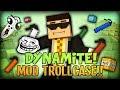 Minecraft Mods / Mod Trollcase - FUNNY SUPER FLYING DYNAMITE (Too Much Dynamite MOD)