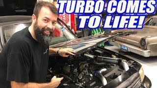 We TURBO'D Our Crown Vic In ONE DAY (And A Half)!