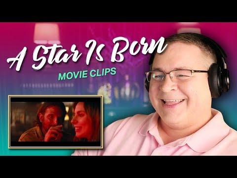 A STAR IS BORN Movie Clips Reaction | A Way Out, 12 Notes, One Reason and Songwriter