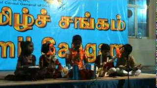 Villu Pattu in Dubai Tamil Sangam