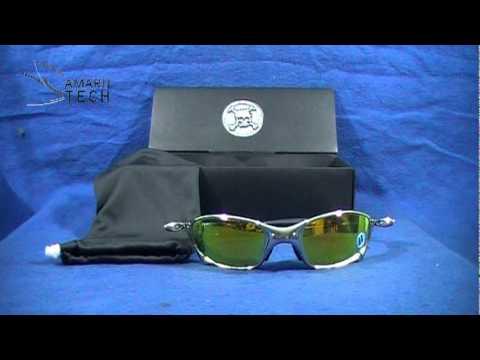 2e42593324 lentes oakley juliet polished titanium/ lunas color fire 04-147 ...
