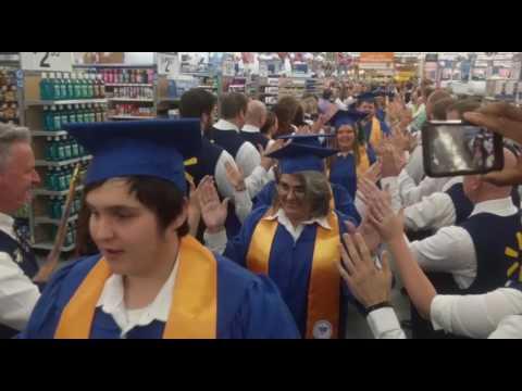 Walmart Academy Grand Opening in Beebe, AR