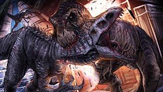 Клип про динозавров Блю,Индоминус,Индораптор,Ти-рекс и другие😁