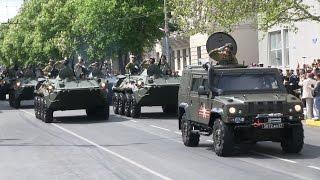Парад военной техники в День Победы Севастополь 2017 год