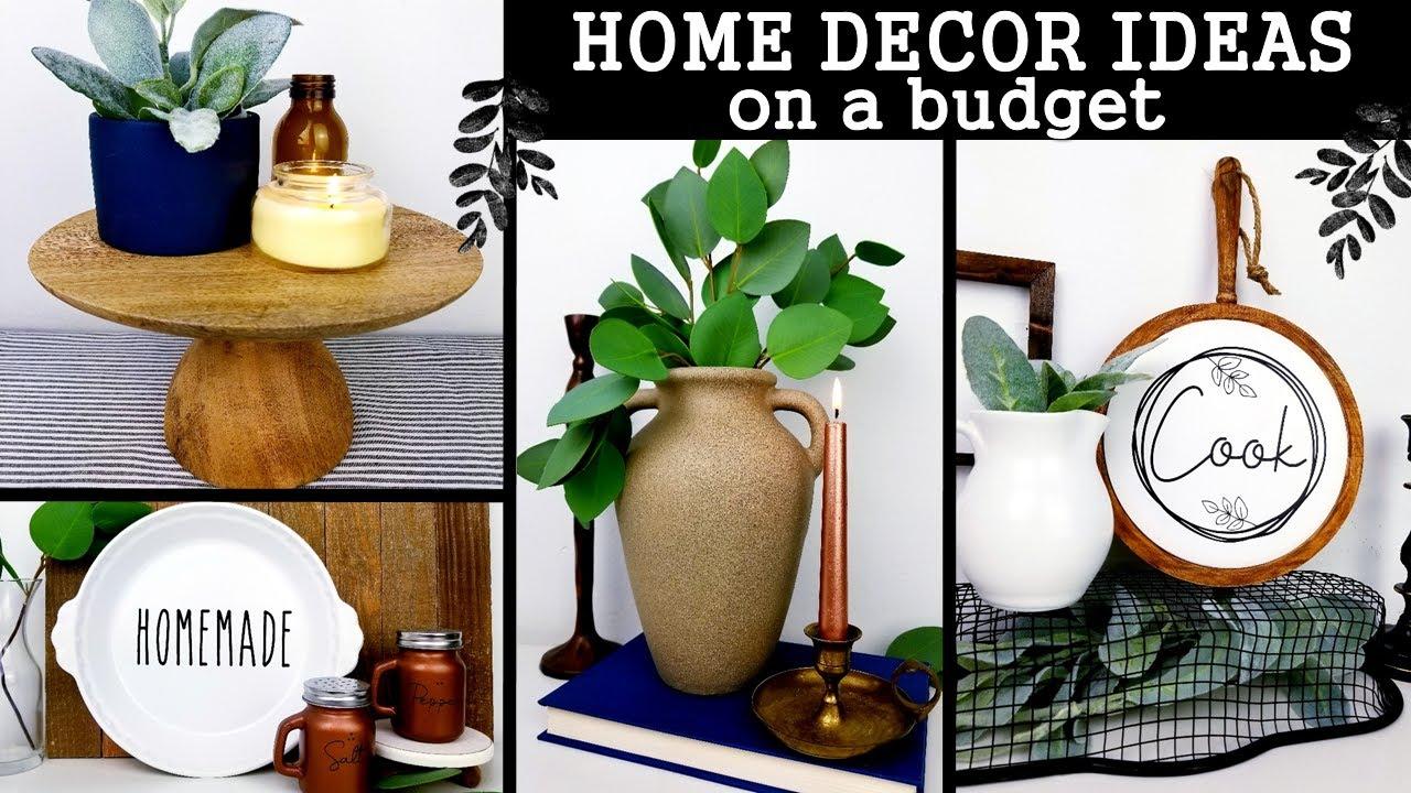 Diy Home Decor Ideas 2020 Amazing Decor Ideas On A Budget Modern Farmhouse Inspired Youtube