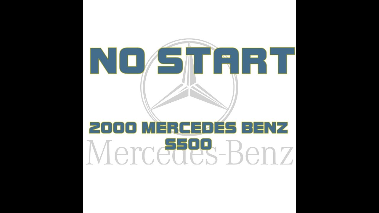 Starter - W220 S-Class Encyclopedia