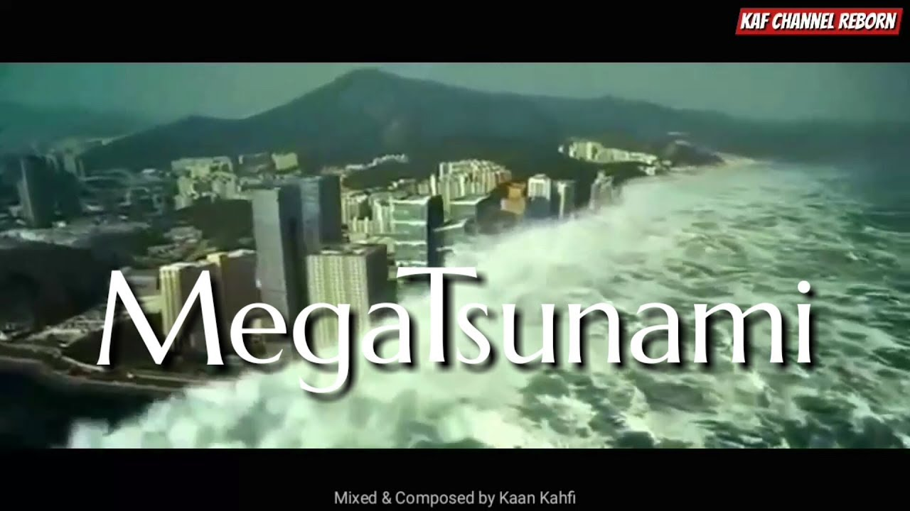 MEGA TSUNAMI (illustration)