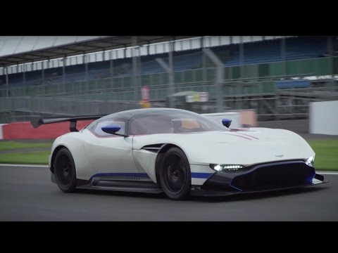 Aston Martin Vulcan Driven L Flat Out In The Incredible Bhp Hypercar At Silverstone