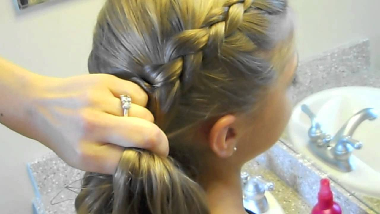 side dutch braid medium