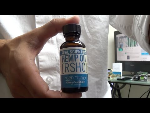 Real Scientific Hemp Oil 100mg Tincture Review