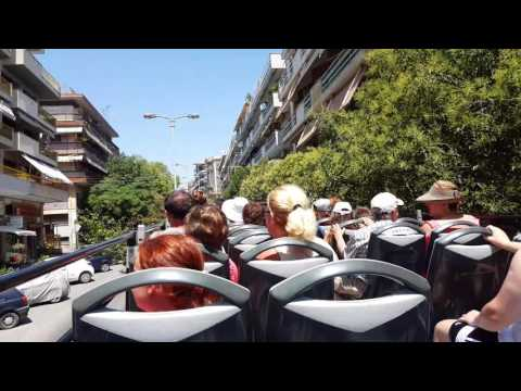 City Tour Thessaloniki  GREECE 4K VIDEO TRAVEL2016 Paul&Patr